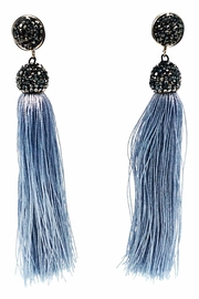 Made It! Silk Tassel Earrings - Product Mini Image