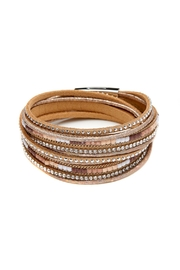 Made It! Tan Leather Bracelet - Product Mini Image