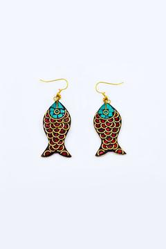 Made on Earth Fish Earrings - Product List Image
