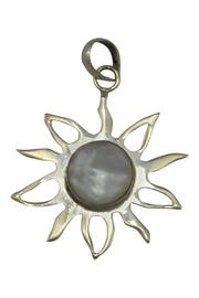 Made on Earth Moonstone Pendant - Front cropped