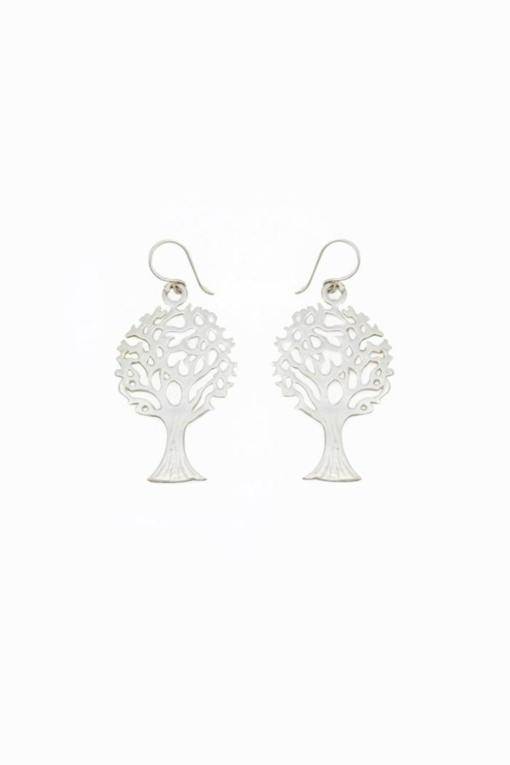 Made on Earth Tree Earrings - Front Cropped Image
