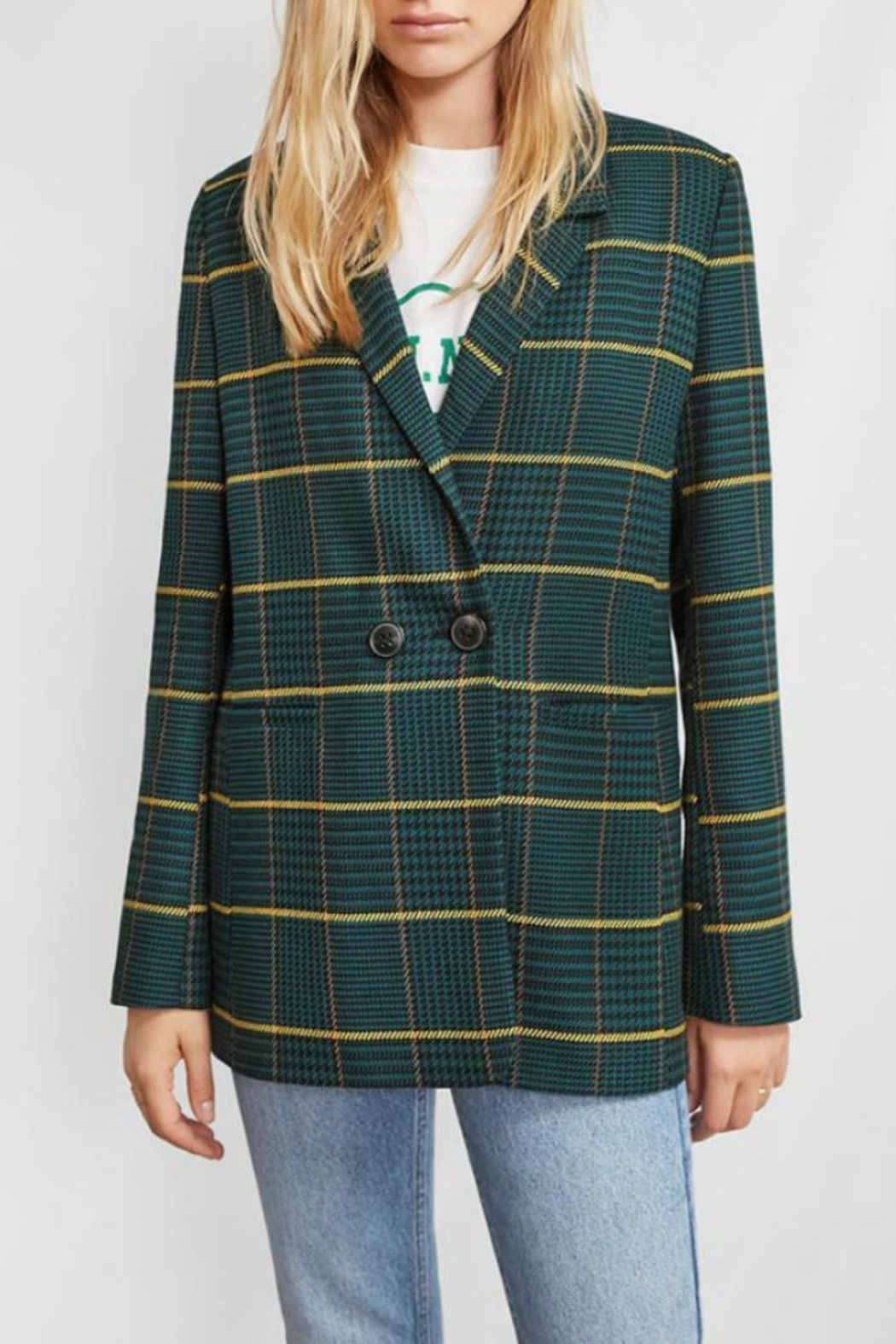b873898ad8 Anine Bing Madeleine Blazer Plaid from Canada by Era Style Loft ...