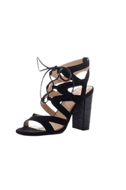 Madeline Brunette Tie Up Sandal - Product Mini Image