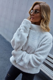 L Michele Madeline Sherpa Pullover - Product Mini Image