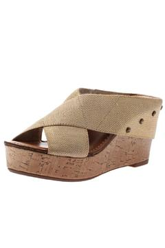 Madeline Stretchy Strap Wedge - Product List Image