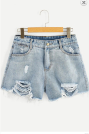 Ivory Madelyn Cut Offs - Product Mini Image