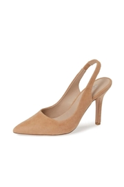 Charles By Charles David Madelyn Nude Suede - Front cropped