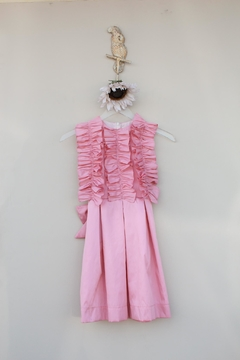 Shoptiques Product: Salmon Rumple Dress