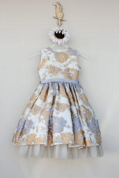 Mademoiselle Charlotte Silver/gold Dress - Product List Image