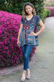Johnny Was Madhuri Embroidered Tunic - Product Mini Image