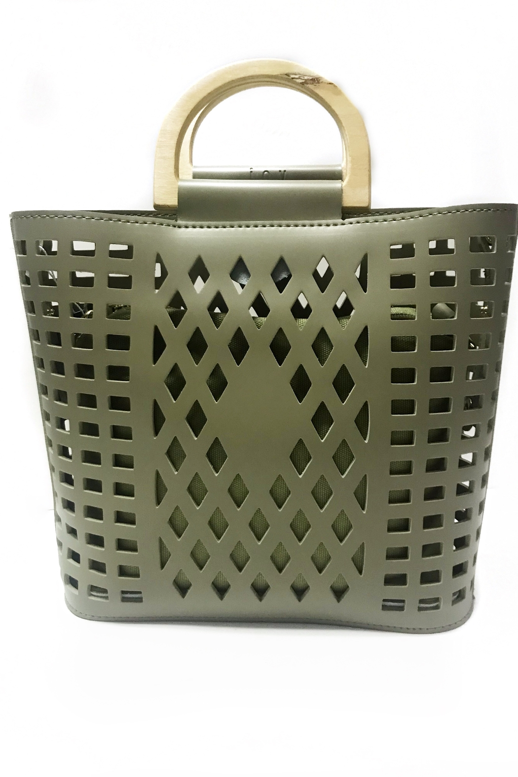 Joy Susan  Madison Cut Out Tote - Front Cropped Image