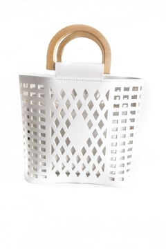 Shoptiques Product: Madison Cut Out Tote