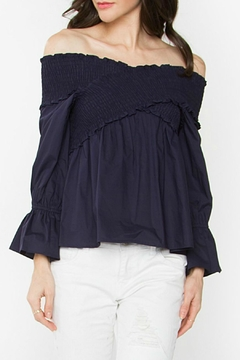Sugar Lips Madison Off-The-Shoulder Top - Product List Image