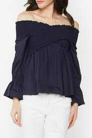 Sugar Lips Madison Off-The-Shoulder Top - Product Mini Image