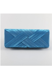Madison Avenue Accessories Teal Clutch - Product Mini Image