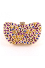 Madison Avenue Accessories Violet Flair Clutch - Product Mini Image