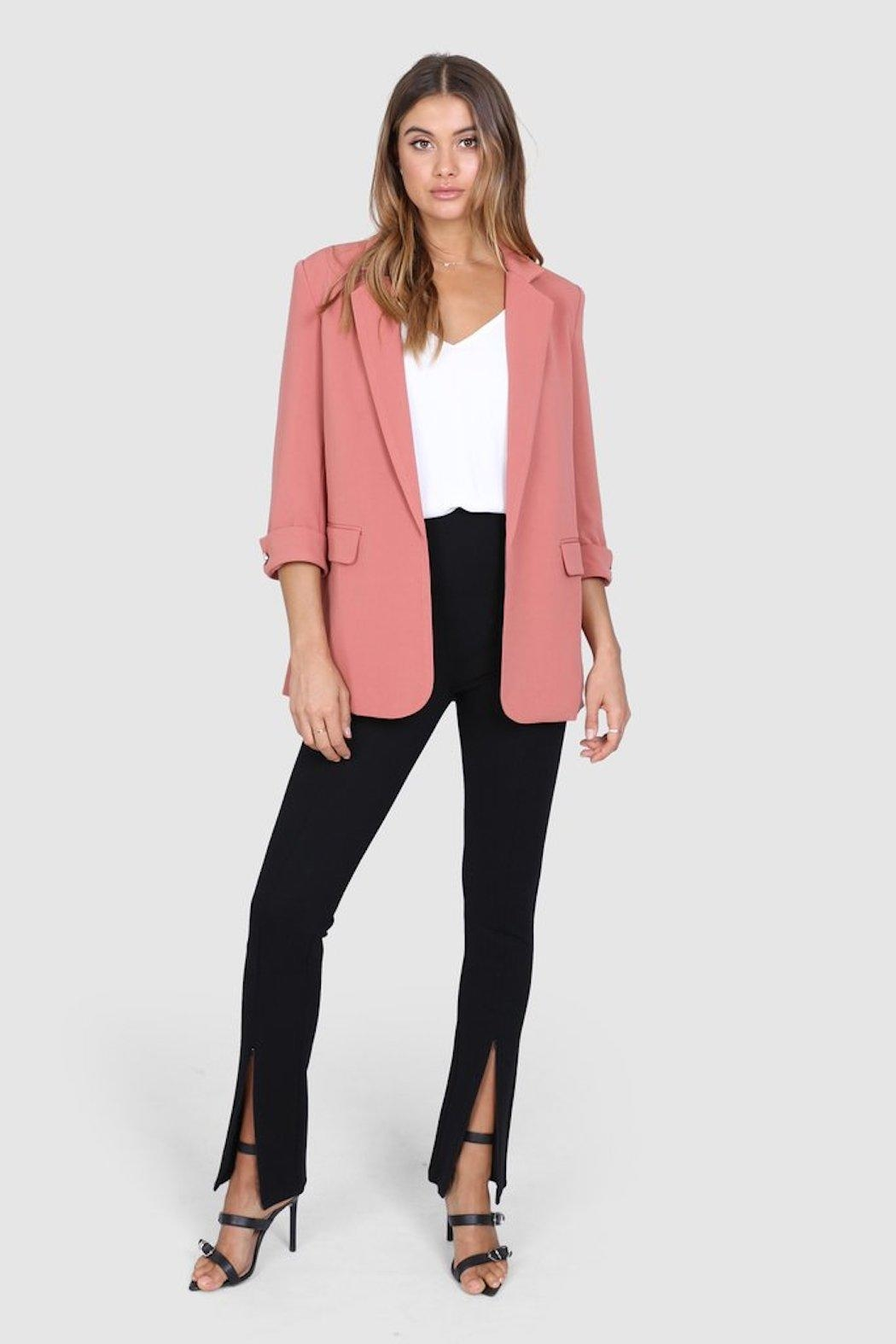 Madison the Label Essentials Blazer - Main Image