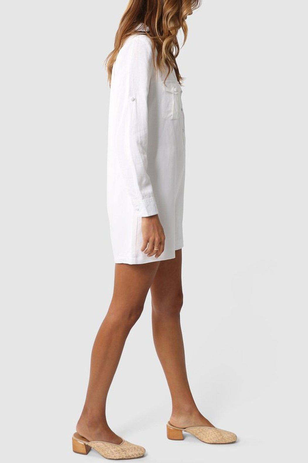 Madison the Label Kenzie Playsuit - Side Cropped Image