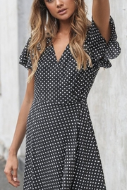 Madison the Label Sophia Spot Dress - Product Mini Image
