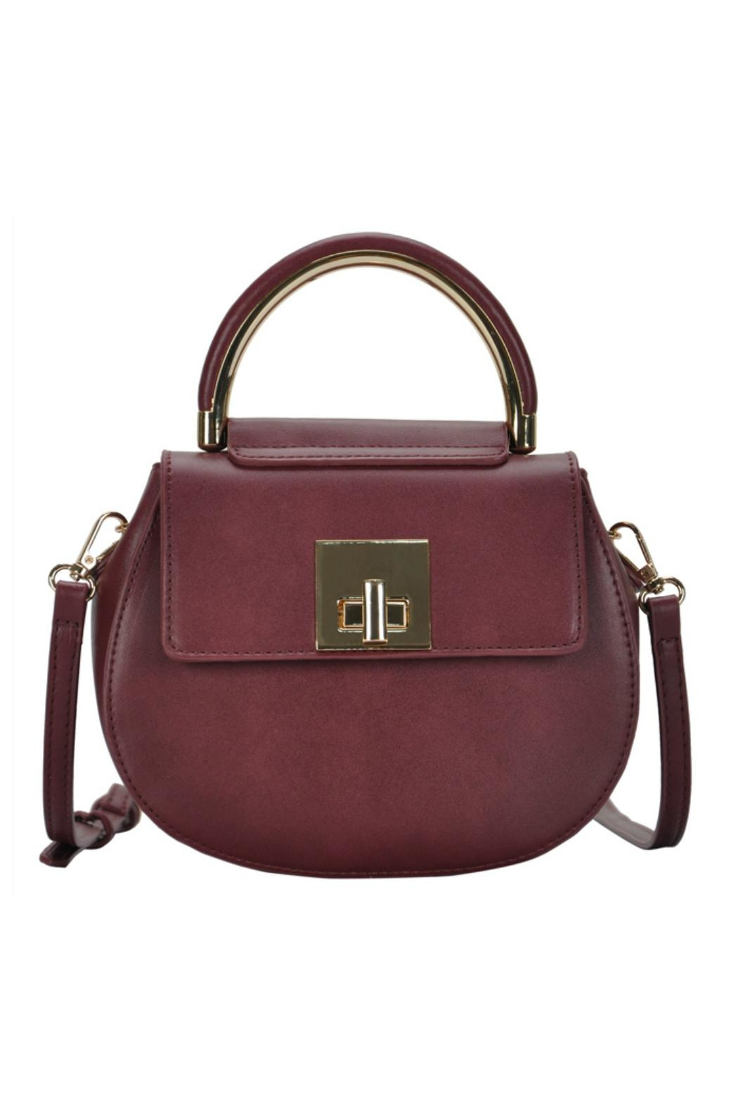 Madison West Rounded Top-Handle Bag - Main Image