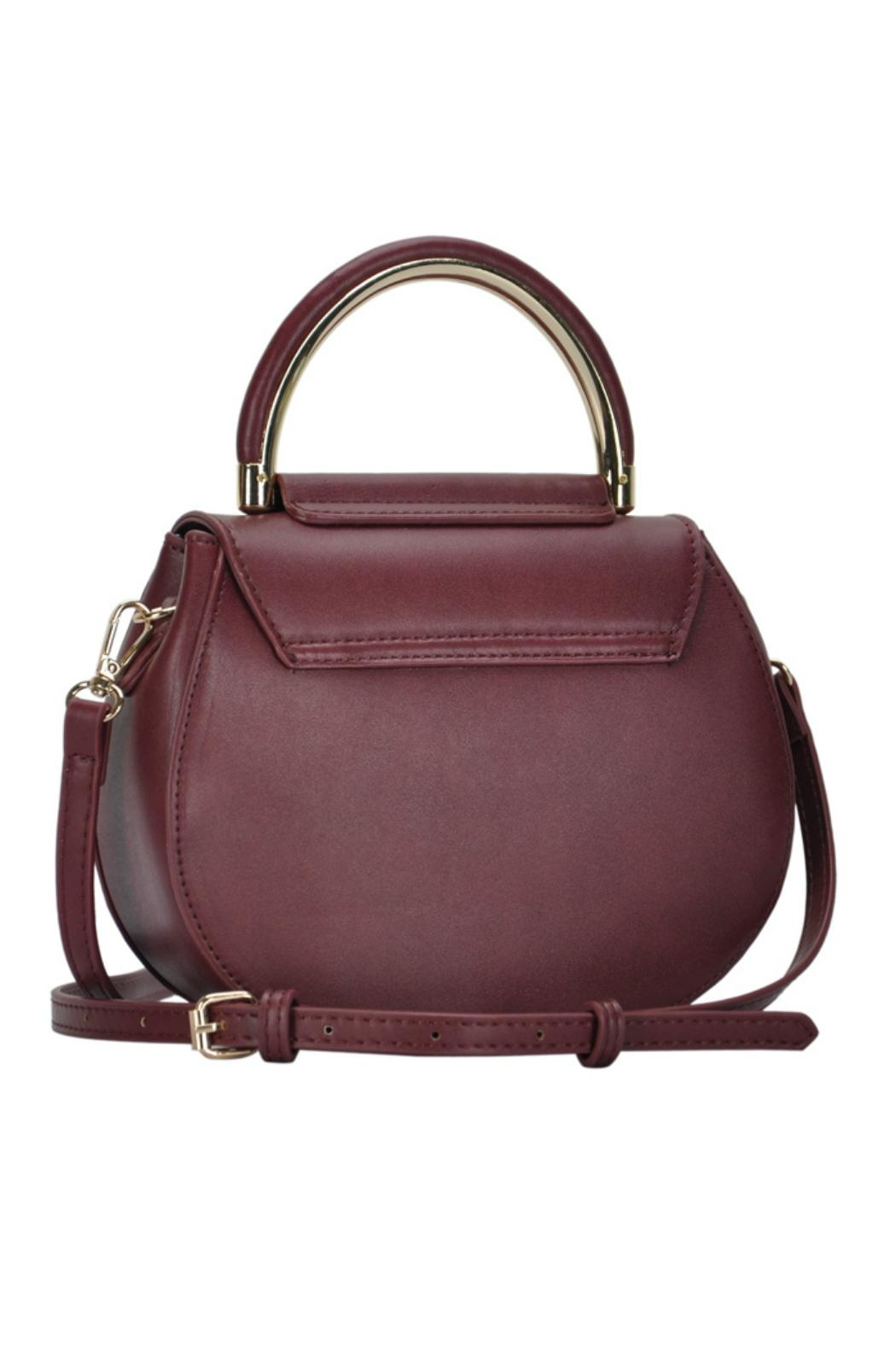 Madison West Rounded Top-Handle Bag - Front Full Image