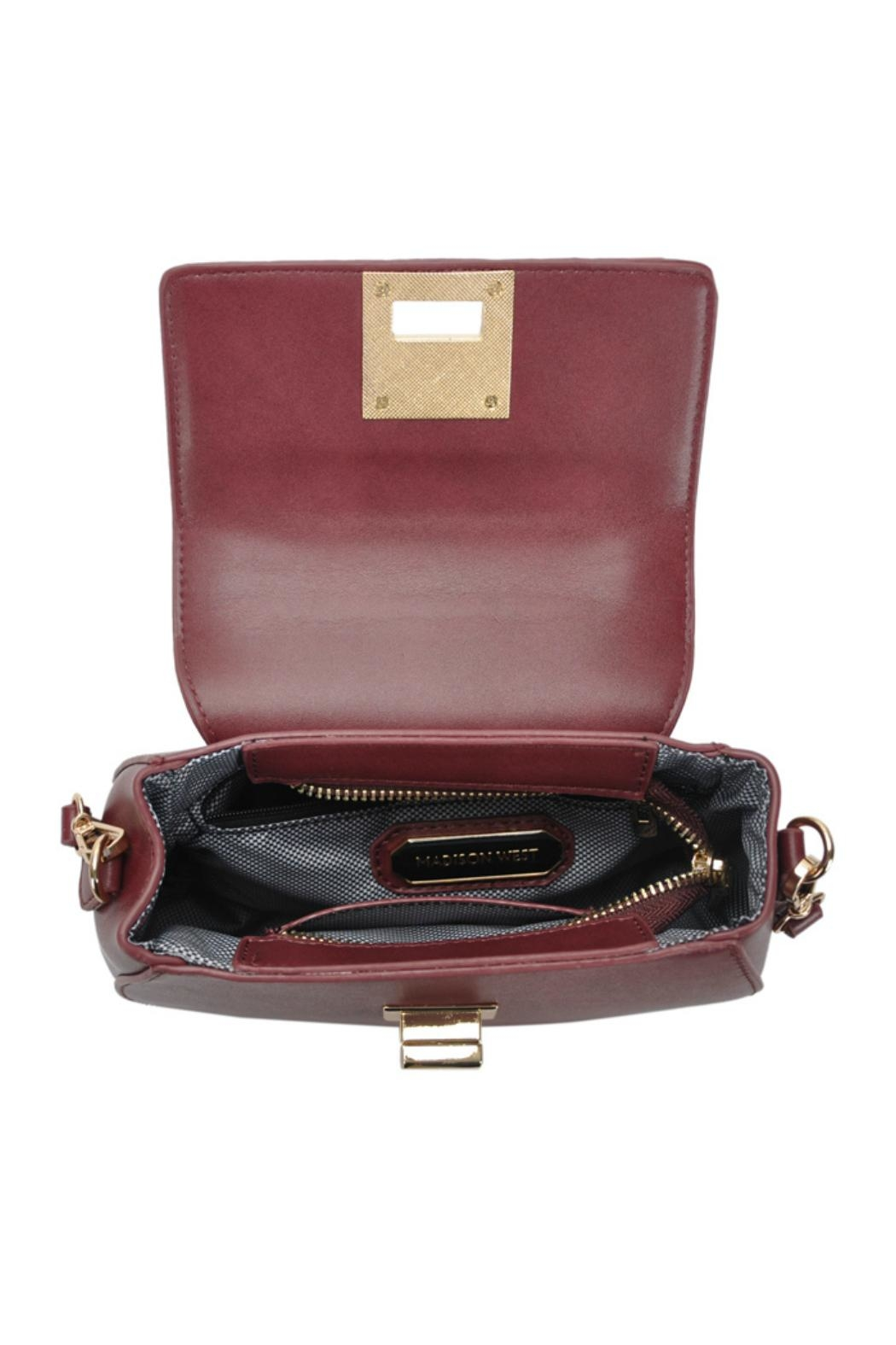 Madison West Rounded Top-Handle Bag - Side Cropped Image