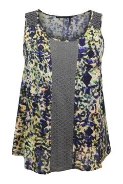 Shoptiques Product: Print Lace Top