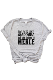 OCEAN & 7TH Madonna/Merle graphic tee - Product Mini Image