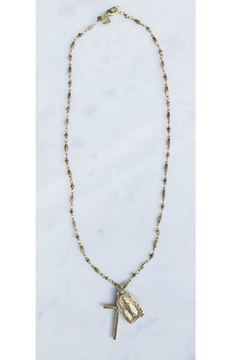 Rope the Moon Madonna Rosary Necklace - Product List Image