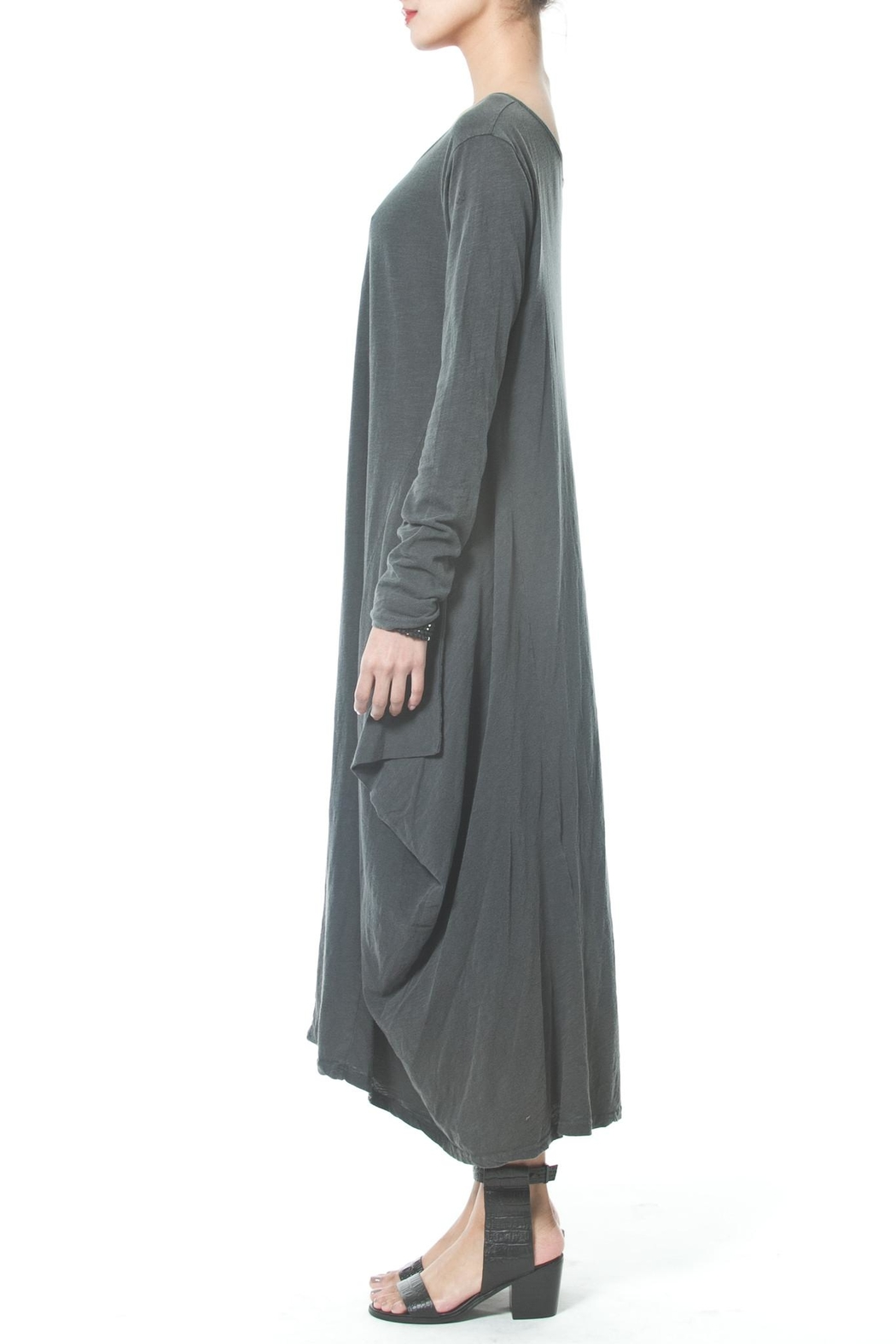 Madonna & Co Asymmetrical Maxi - Front Full Image
