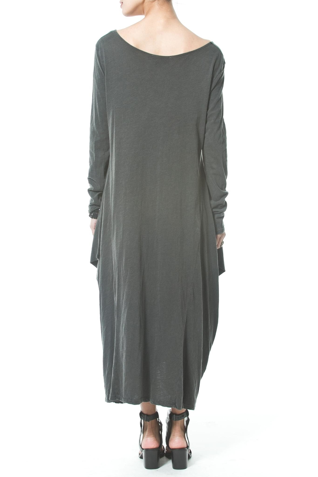 Madonna & Co Asymmetrical Maxi - Side Cropped Image
