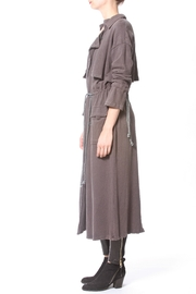 Madonna & Co Fleece Trench - Front full body