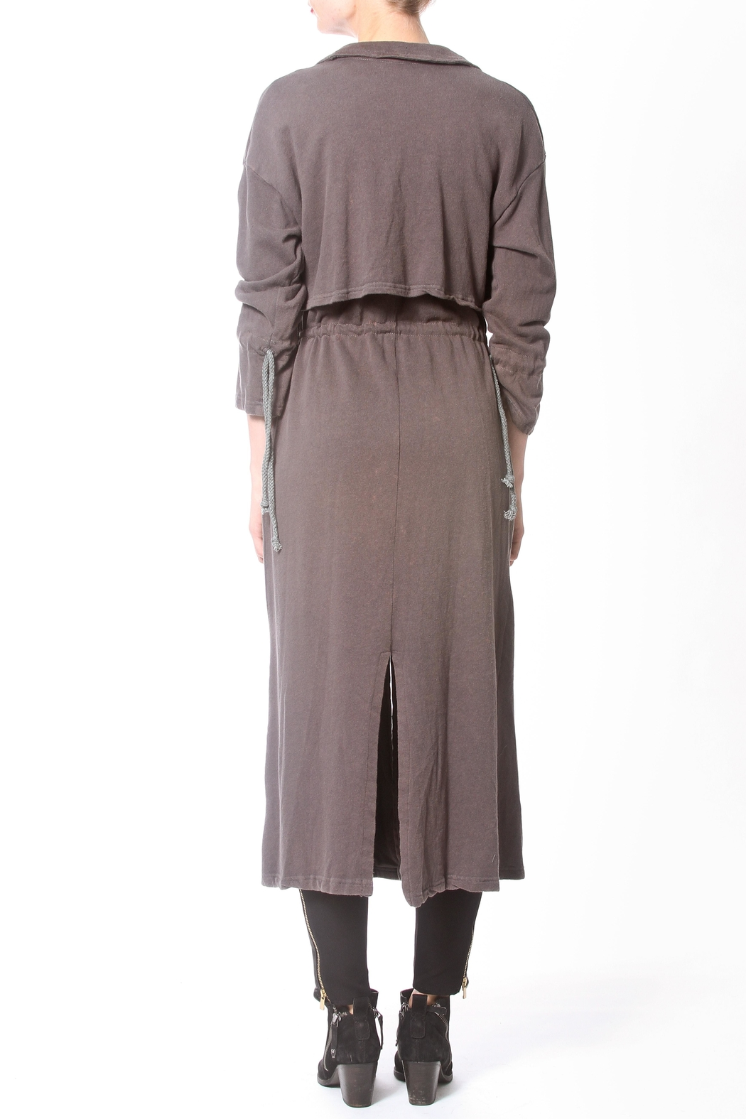 Madonna & Co Fleece Trench - Side Cropped Image