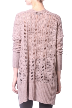 Madonna & Co High Low Pointelle Top - Alternate List Image