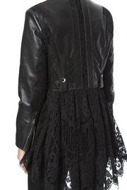 Madonna & Co Lace & Leather Moto - Side cropped