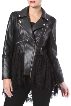 Madonna & Co Lace & Leather Moto - Product List Image