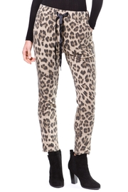 Madonna & Co Leopard Print Trackpant - Product Mini Image