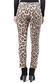Madonna & Co Leopard Print Trackpant - Side cropped