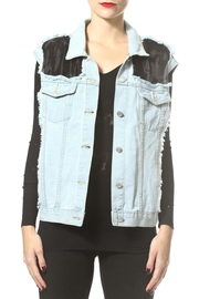 Madonna & Co Luxe Denim Vest - Product Mini Image