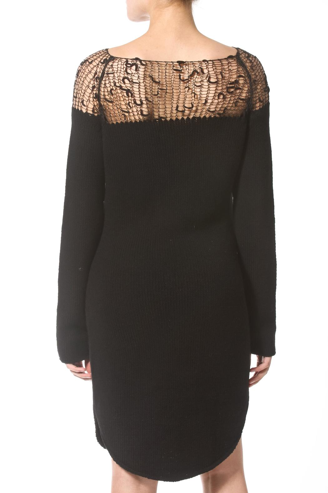 Madonna & Co Luxe Sweater Dress - Side Cropped Image