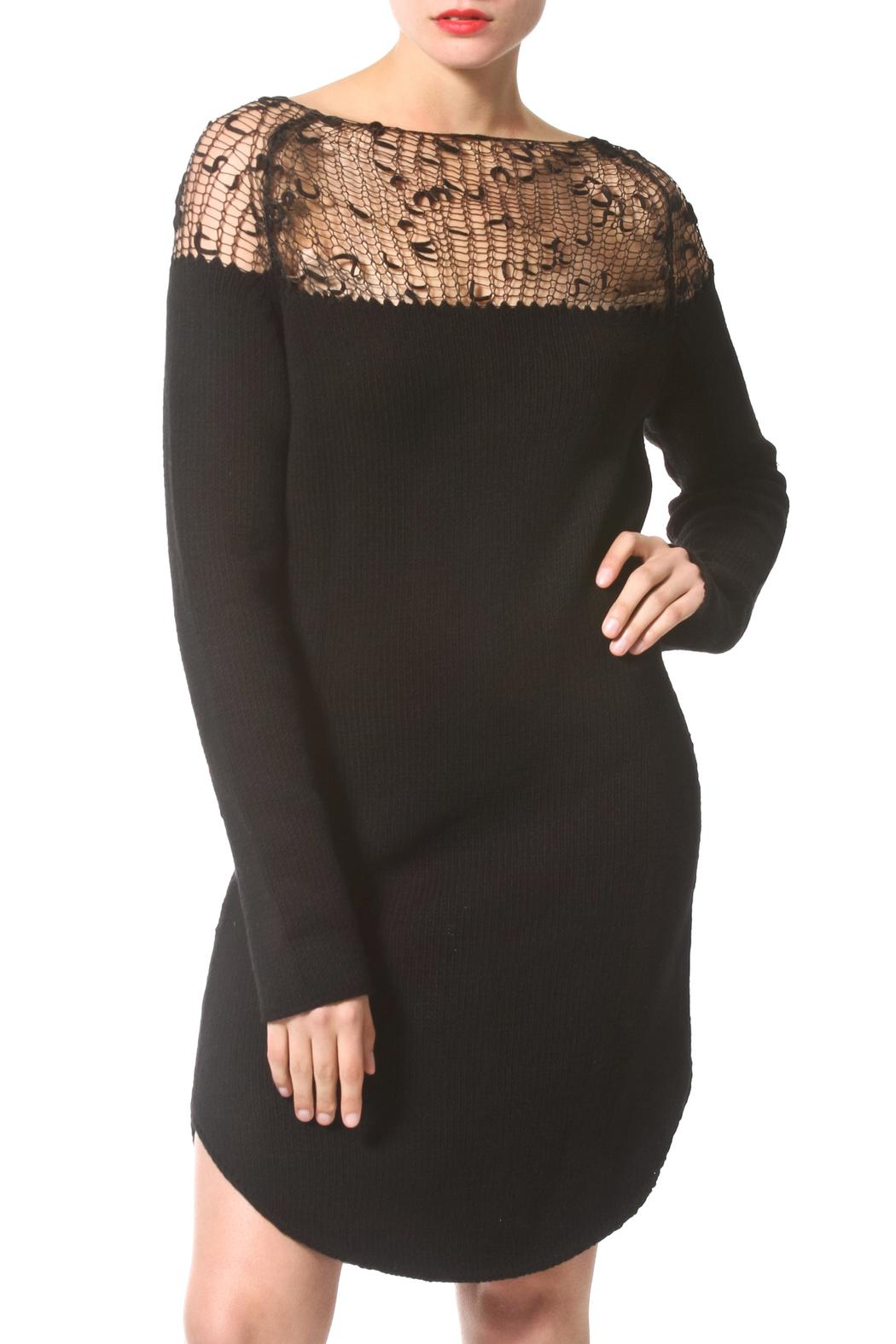 Madonna & Co Luxe Sweater Dress - Main Image