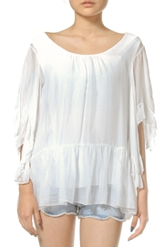 Madonna & Co Silk Tunic Top - Front cropped
