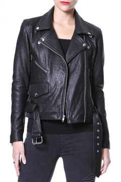 Madonna & Co Pebble Leather Moto - Product List Image