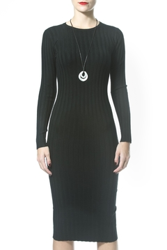 Madonna & Co Ribbed Sweater Dress - Product List Image