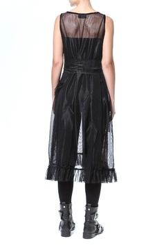 Madonna & Co Sheer Statement Tunic-Dress - Alternate List Image