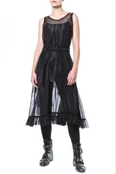 Madonna & Co Sheer Statement Tunic-Dress - Product List Image