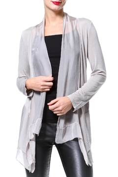 Madonna & Co Silk-Knit Cardigan - Product List Image