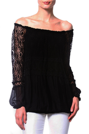 Madonna & Co Silk-Lace Tunic - Product Mini Image