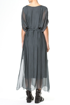 Madonna & Co Silk Maxi With Metallic Trim - Alternate List Image
