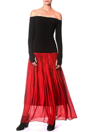 Madonna & Co Silk Skirt - Product Mini Image